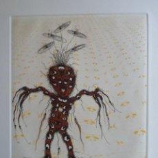 Arte: ZUSH (BARCELONA 1946) (ALBERT PORTA MUÑOZ) GRABADO DE 20X15 FIRMADO Y 16/75. Lote 144373570