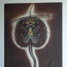 Arte: ZUSH (BARCELONA 1946) (ALBERT PORTA MUÑOZ) GRABADO DE 32X23CMS PAPEL 56X38CMS, FIRMADO A LÁPIZ 23/75. Lote 144378634