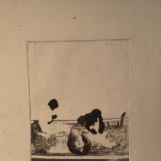 Arte: EBERHARD SCHLOTTER (1921-2014) GRABADO FIRMADO Y NUMERADO, 10/200. Lote 144390074
