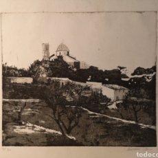 Arte: EBERHARD SCHLOTTER (1921-2014) VISTA DE ALTEA, FIRMADA Y NUMERADO. 31/200. Lote 144390342