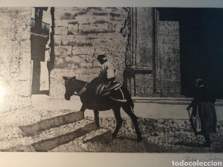 EBERHARD SCHLOTTER (1921-2014) GRABADO FIRMADO Y NUMERADO, 27/35 (Arte - Grabados - Contemporáneos siglo XX)