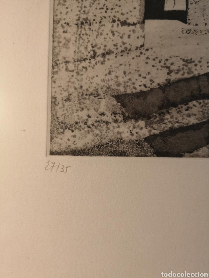 Arte: EBERHARD SCHLOTTER (1921-2014) GRABADO FIRMADO Y NUMERADO, 27/35 - Foto 4 - 144394986