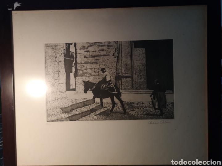 Arte: EBERHARD SCHLOTTER (1921-2014) GRABADO FIRMADO Y NUMERADO, 27/35 - Foto 5 - 144394986