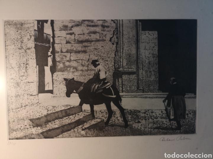 Arte: EBERHARD SCHLOTTER (1921-2014) GRABADO FIRMADO Y NUMERADO, 27/35 - Foto 2 - 144394986