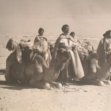 Arte: GRABADO O FOTOGRAFÍA IMPRESA SOBRE TELA DEL SAHARA. Lote 144491341