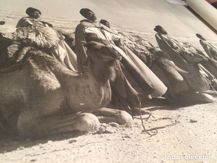 Arte: Grabado o fotografía impresa sobre tela del Sahara - Foto 14 - 144491341