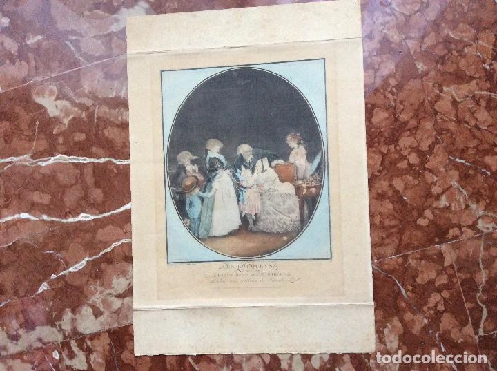 GRABADO DEL SIGLO XIX 51CMX36CM. (Arte - Grabados - Modernos siglo XIX)