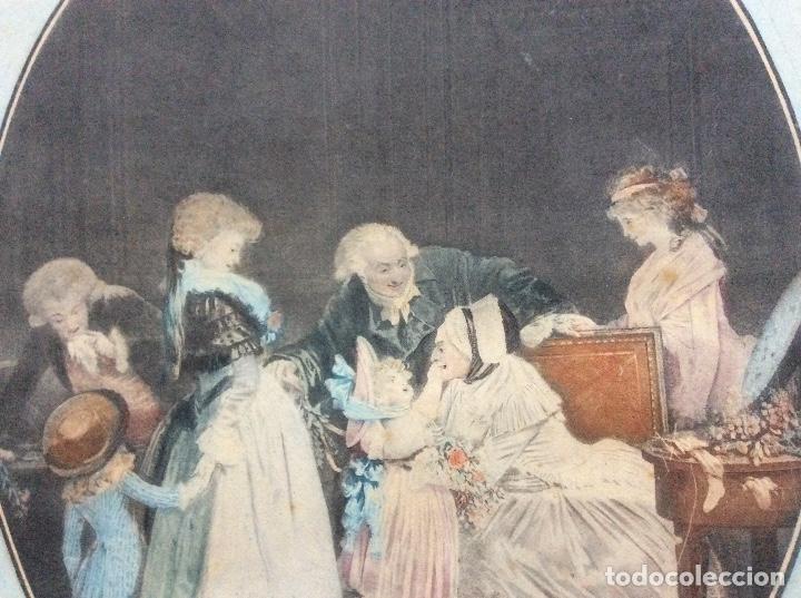 Arte: Grabado del siglo XIX 51cmx36cm. - Foto 2 - 144555042