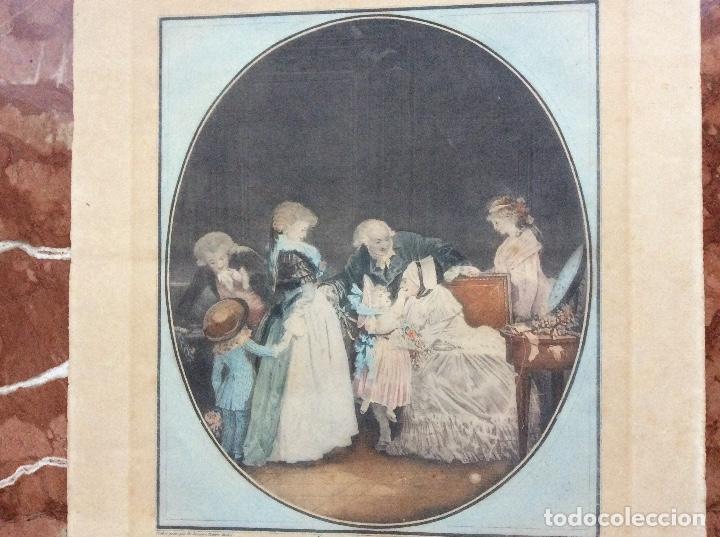 Arte: Grabado del siglo XIX 51cmx36cm. - Foto 4 - 144555042