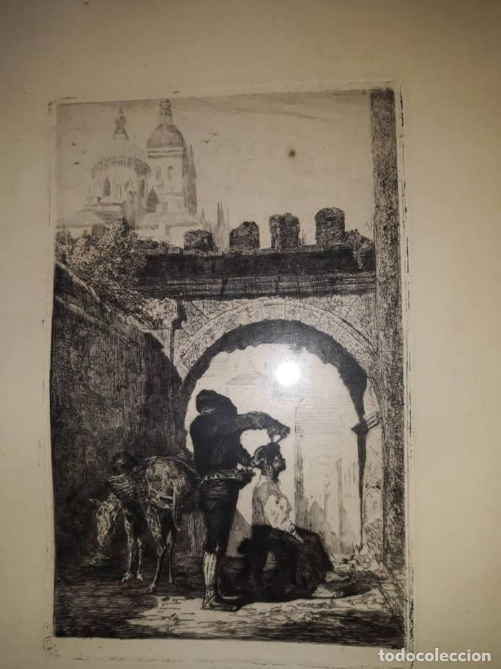 Arte: grabado siglo XIX - Foto 2 - 136130730