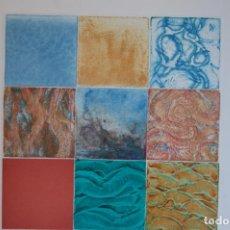 Arte: TREVOR PRICE. GRABADO DE 25,5X25,5 (HUELLA) EN PAPEL 42X45. TITULO: SEASCAPE I. EJEM. 122/150.. Lote 144616078
