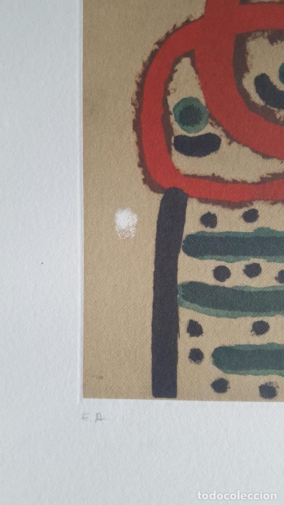 Art: JOAN MIRÓ GRABADO ORIGINAL FIRMADO A LAPIZ,E.A.,Femme et oiseau,29.5x20 CMS - Foto 6 - 146866394