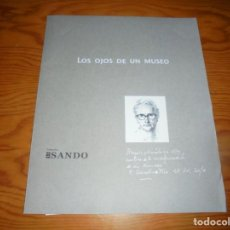 Arte: F. REVELLO DE TORO. LOS OJOS DE UN MUSEO. 3 LAMINAS CON CARPETA. DIARIO SUR, 2010. Lote 145909114