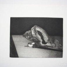 Arte: GRABADO DE LUCIO MUÑOZ, FIRMADO Y NUMERADO. Lote 145929754