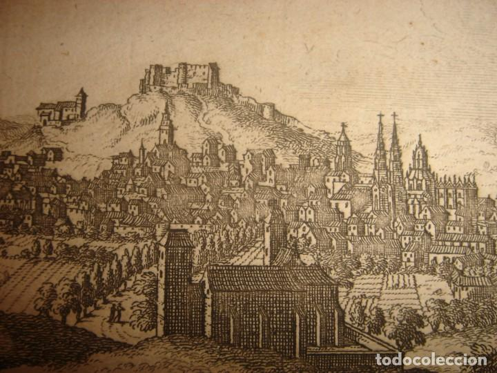 Arte: GRABADO VISTA BURGOS, CASTILLA LA VIEJA, ORIGINAL,1715, VAN DER AA,ESPLÉNDIDO - Foto 10 - 146160222