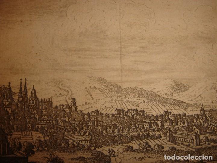 Arte: GRABADO VISTA BURGOS, CASTILLA LA VIEJA, ORIGINAL,1715, VAN DER AA,ESPLÉNDIDO - Foto 11 - 146160222