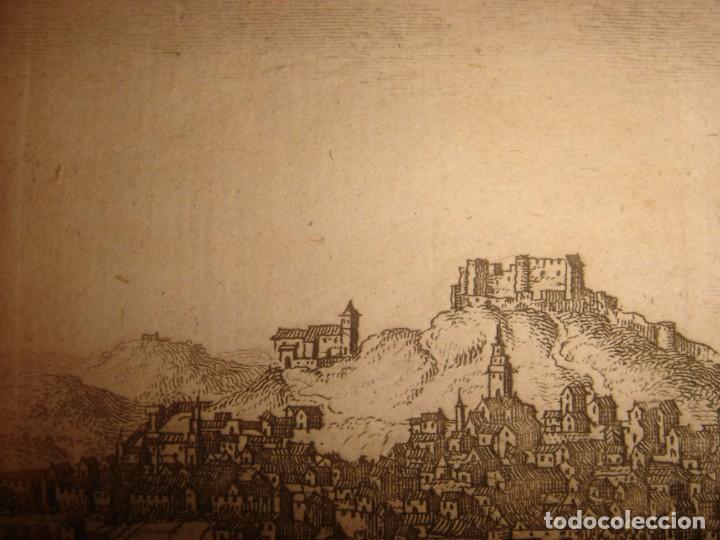 Arte: GRABADO VISTA BURGOS, CASTILLA LA VIEJA, ORIGINAL,1715, VAN DER AA,ESPLÉNDIDO - Foto 13 - 146160222