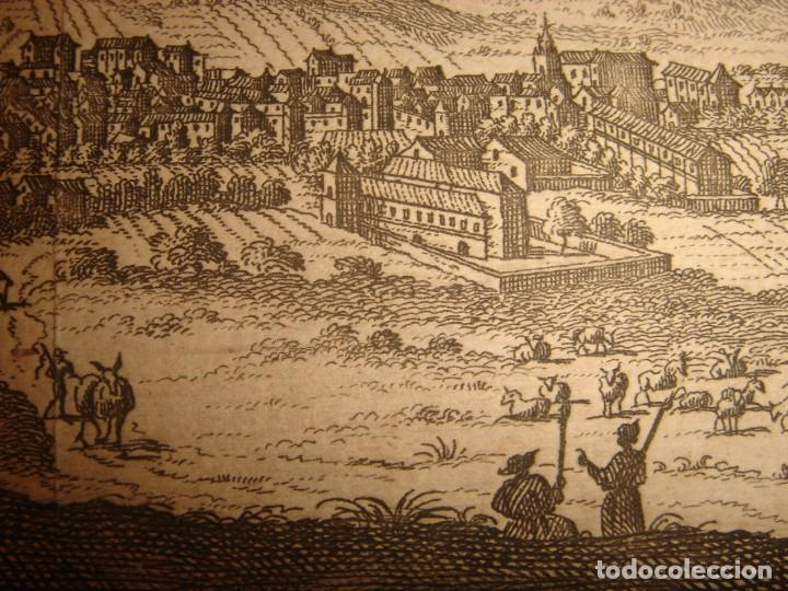 Arte: GRABADO VISTA BURGOS, CASTILLA LA VIEJA, ORIGINAL,1715, VAN DER AA,ESPLÉNDIDO - Foto 14 - 146160222