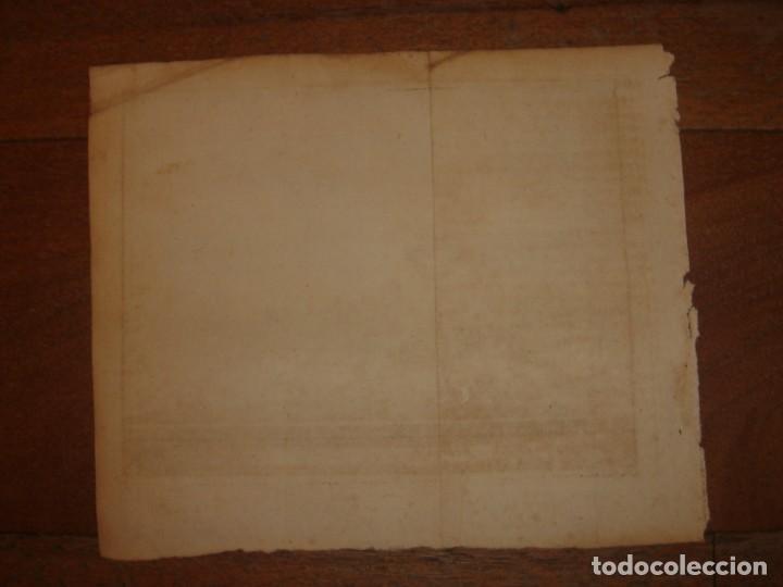 Arte: GRABADO VISTA BURGOS, CASTILLA LA VIEJA, ORIGINAL,1715, VAN DER AA,ESPLÉNDIDO - Foto 15 - 146160222
