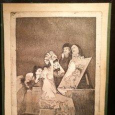 Arte: HASTA LA MUERTE. VERSION RARA DEL CAPRICHO DE GOYA. Lote 146405612
