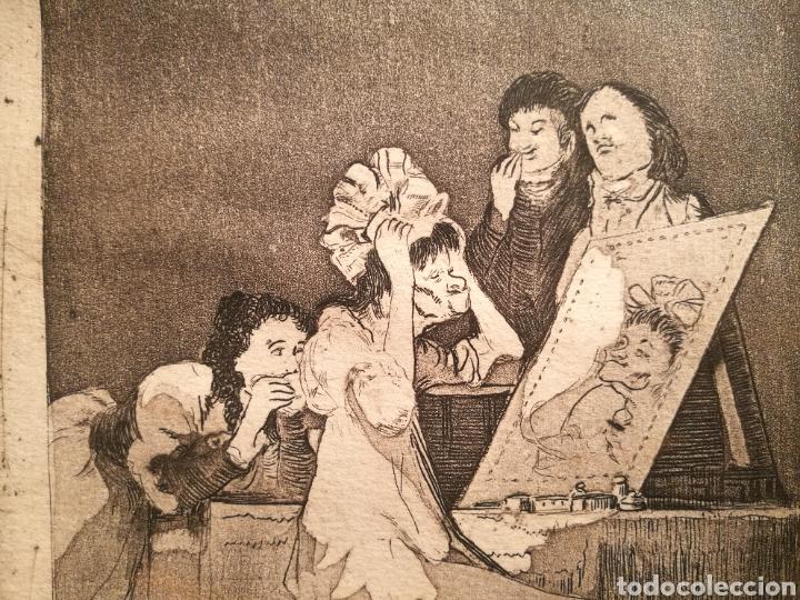 Arte: HASTA LA MUERTE. VERSION RARA DEL CAPRICHO DE GOYA - Foto 2 - 146405612