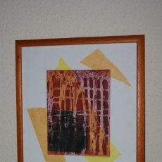 Arte: GRABADO DE MAR PAJARÓN GUERRERO - NIÑOS EN LA GUERRA. Lote 146790690