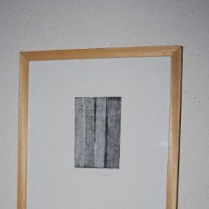 Arte: GRABADO DE MAR PAJARÓN GUERRERO - TRONCOS. Lote 146791950