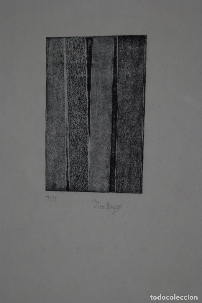 Arte: GRABADO DE MAR PAJARÓN GUERRERO - TRONCOS - Foto 2 - 146791950