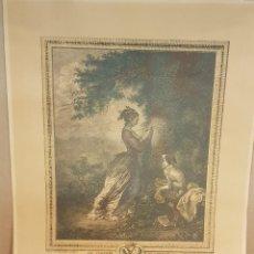 Arte: LOUISE D'ESPARBÈS DE LUSSAN / VICOMTESSE DE POLASTRON / FRAGONARD - DELAUNAY / LEER.. Lote 147112402