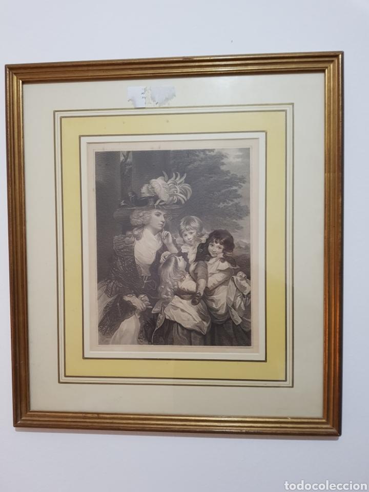 GRABADO ENMARCADO (Arte - Grabados - Contemporáneos siglo XX)