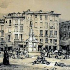 Arte: GRABADO DE JOHN FREDERICK LEWIS. Lote 147219024