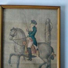 Arte: PASO DE MOVIMIENTO. A. CARNICERO LO DIBUJÓ. MANUEL ESQUIVEL DE SOTOMAYOR LO GRABÓ EN MADRID A 1800. Lote 147431018