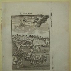 Arte: VISTA DE LA CIUDAD DE ANGRA ( ISLA TERCEIRA, AZORES, ATLÁNTICO, PORTUGAL), 1719. MALLET. Lote 147583572