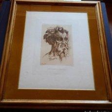 Arte: GEORGE LEWIS - BACCIO BANDINELLI : AGUAFUERTE DE LA COLECCIÓN DE SU MAJESTAD, 1809. Lote 147692570