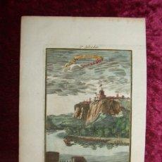 Arte: VISTA DE LA CIUDAD SAN SALVADOR DEL CONGO (ANGOLA, ÁFRICA), 1713. MALLET. Lote 147698012