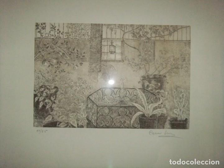 Arte: GRABADO ENMARCADO DE CARME SERRA CANTARELL - Foto 3 - 147817822