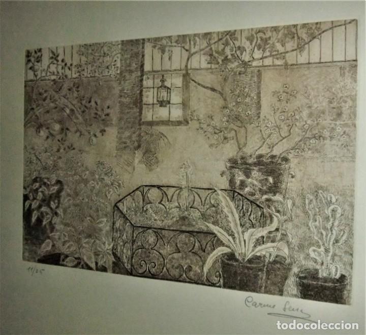 Arte: GRABADO ENMARCADO DE CARME SERRA CANTARELL - Foto 4 - 147817822