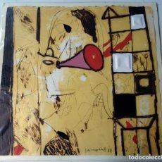 Arte: GUINOVART - AGUAFUERTE - CON UNA CUCHARA DE PALO -1987. Lote 148129106