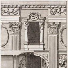 Arte: GRABADO FACHADA DE SAN GIOVANNI LATERANO. ESCUELA ITALIANA S.XVIII. . Lote 148152226