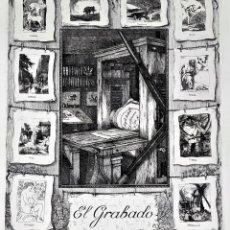 Art: EL GRABADO. GRABADO SOBRE PAPEL. FIRMADO. MARTÍN OLIETE. 340/500. ESPAÑA. 1996. Lote 148194678