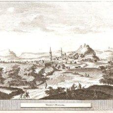 Arte: VISTA DE VELEZ MALAGA DEL SIGLO XVIII. Lote 148286730