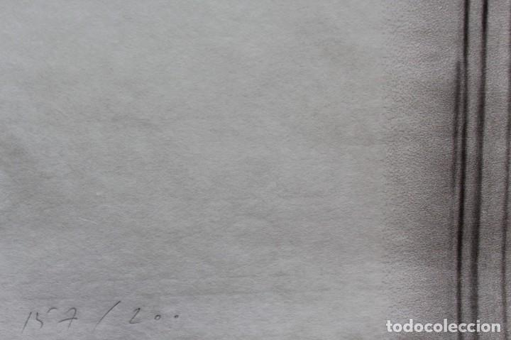 Arte: JAUME PLENSA LITOGRAFIA GOFRADO CON RELIEVE .91X62 CM Firmado y numerado a mano - Foto 2 - 148604138