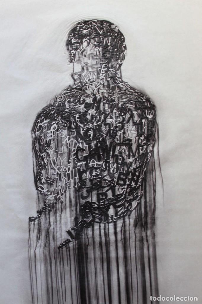 Arte: JAUME PLENSA LITOGRAFIA GOFRADO CON RELIEVE .91X62 CM Firmado y numerado a mano - Foto 3 - 148604138