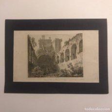 Arte: GRAN SALA DEL PALACIO DE LINLITHGOW 18X25 CM. Lote 148782582
