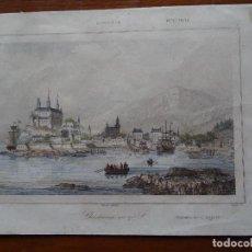 Arte: CRISTIANIA, NORUEGA, EN EL SIGLO 17, S XIX, 13 X 20 APROX. Lote 148968590