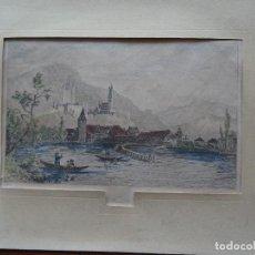 Arte: THUN, SUIZA, S XIX 12 X 20 APROX. Lote 148968854