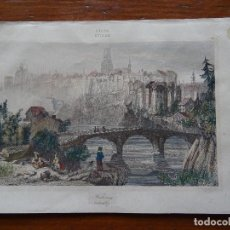 Arte: FRIBURGO SUIZA, S XIX, 12 X 20. Lote 148969750