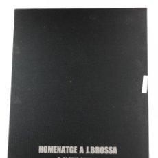 Arte: HOMENATGE A JOAN BROSSA, GLÒRIA CANALS, CARPETA CON 5 GRABADOS. 68X51,5CM. Lote 206877825