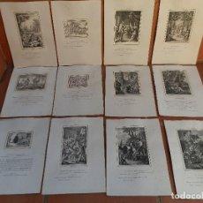 Arte: 48 PÁGINAS ICONOGRAFÍA DE DON QUIJOTE, REPRODUCCIÓN HELIOGRÁFICA Y FOTO-TIPOGRÁFICA LOPEZ FABRA 1879. Lote 149126690
