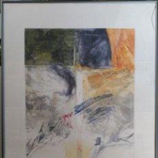 Arte: GRABADO COBRE PAPEL, FIRMADO, PRUEBA DE ARTISTA. Lote 149304334